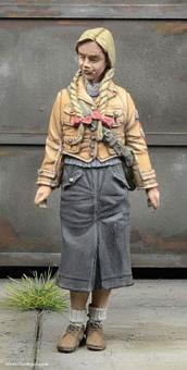 BDM Mädchen - 1945