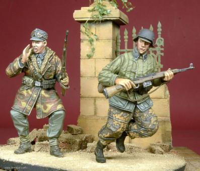 WSS Soldaten in Aktion - 1944-45