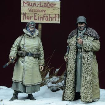 WWI German Guards - Winter