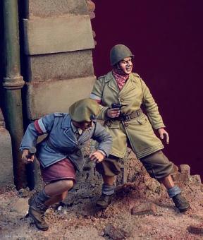 Soldaten - Polnische Heimatarmee - Warschauer Aufstand 1944