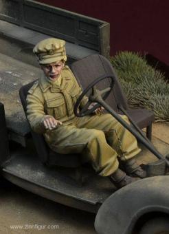 Britische ATF Fahrerin für Tilly