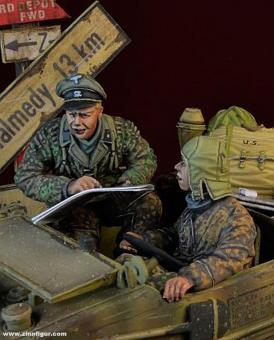 WSS Schwimmwagen Crew - Ardennen 1944