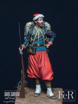 Zouave der Kaisergarde - Krimkrieg 1855