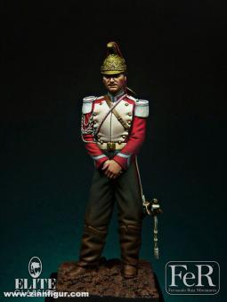Französischer Dragoner-Trompeter der Garde - 1870