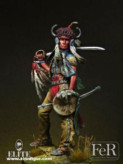 Sioux Dakota Krieger - 1876