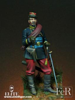 Französischer Leutnant der Infanterie - 1870
