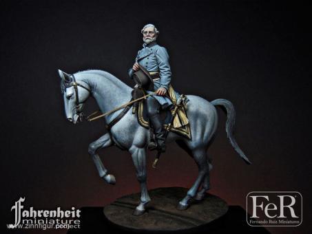 General Robert E. Lee zu Pferd - 1865
