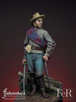 Konföderierter Artillerie-Offizier - Gettysburg 1863