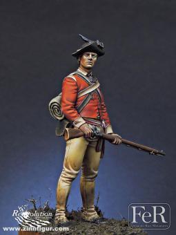 Leichter Infanterist - 40th Regiment of Foot - 1776