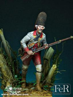 Spanischer Grenadier - Regiment Zamora - Pensacola 1781