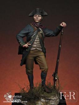 Soldat der Virginia Miliz bei Guilford Courthouse - 1781