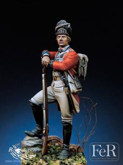Soldat - Royal Welch Fusiliers - Bunker Hill 1775