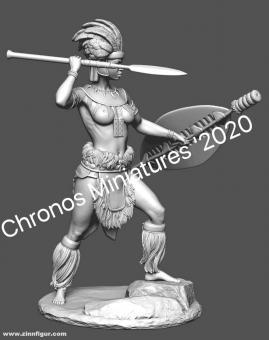 Zulu Kriegerin