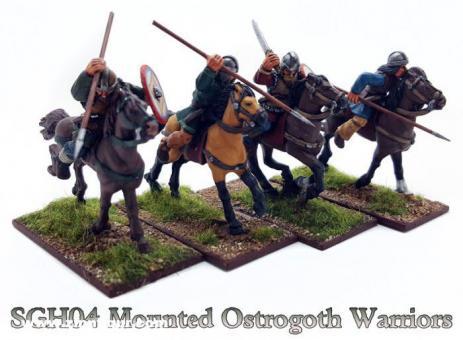 Ostrogoth Krieger zu Pferd