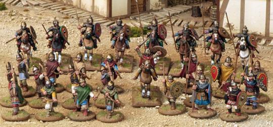 Fürsten-Rus Warband Start-Armee