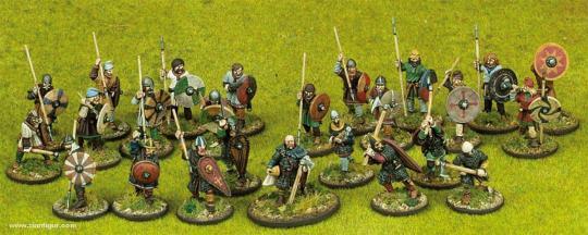 Anglodänen Warband Start-Armee