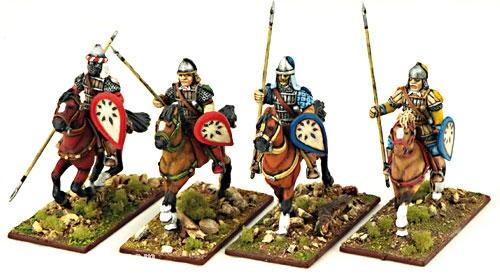Byzantinische Kavallerie mit Speeren