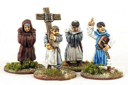 Monks Parading Cross