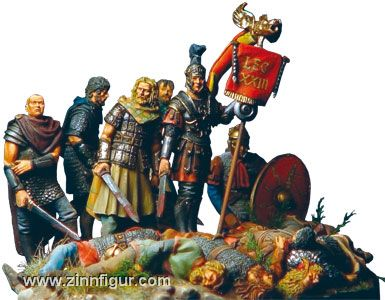 König Arthus in der Schlacht von Mount Badon