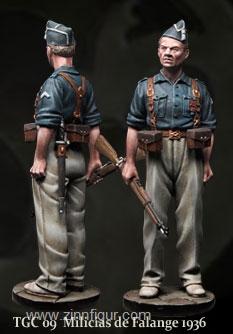 Falangisten Milizionär - 1936
