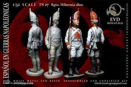 Soldat - Regiment Hibernia - 1800