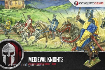 Medieval Mounted Knights