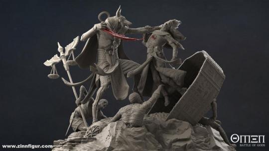 Anubis Diorama