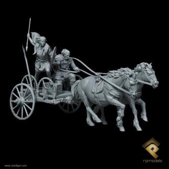 Boudica auf Streitwagen