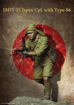 Japanischer Korporal mit Typ 96 MG