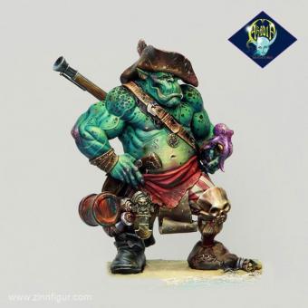 Dzhur-ghul der Räuber (Ork/Hai Pirat)