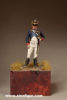 Leutnant - Tirailleur-Chasseurs Junge Garde - 1812