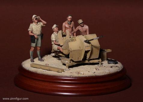 Afrika Korps Soldaten für 2 cm FlaK 38