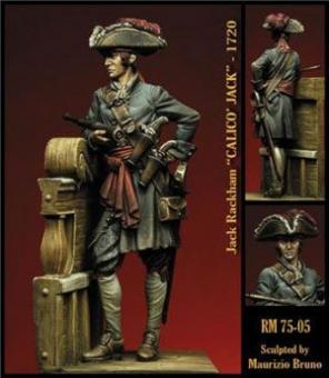 """Pirat Jack Rackham """"Calico Jack"""""""