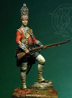 Britischer Grenadier 1751