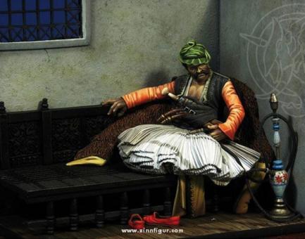 Osmanischer Bashi-Bazouk Anführer 1881