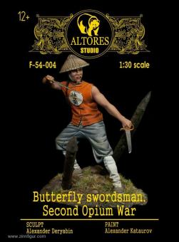 Schmetterlings-Schwertkämpfer - 2. Opiumkrieg