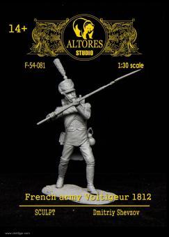 Französischer Voltigeur - 1812