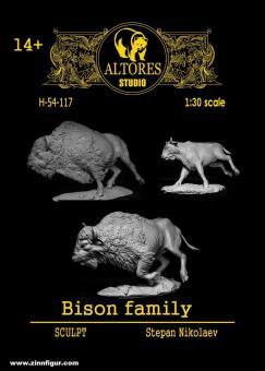 Bison-Familie