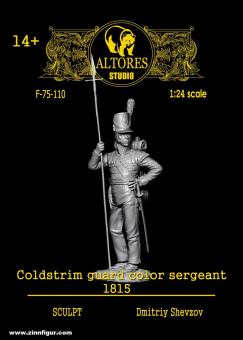 Coldstream Guard Colour Sergeant