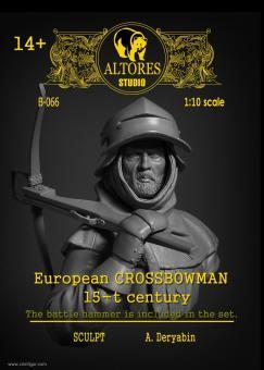 Europäischer Armbrustschütze - 15. Jh.