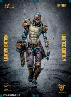 Jason mit Kettensäge - Limitierte Edition