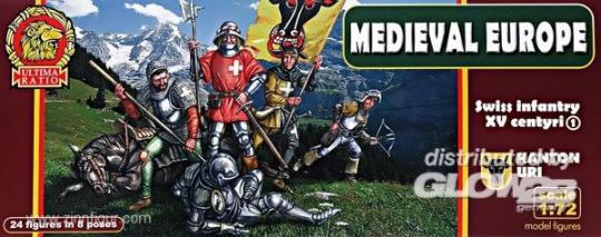 Swiss Infantry Kanton Uri - 15th Century