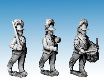 Russische Kommandofiguren A - 1788-90