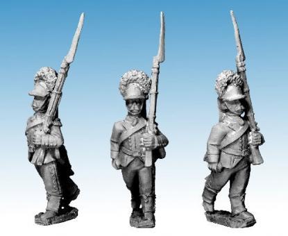 Russische Grenadiere vorgehend - 1788-90