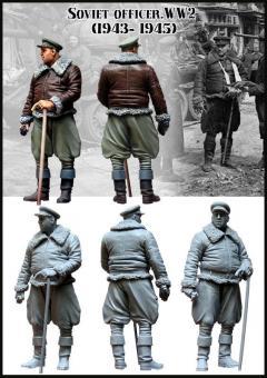 Sowjetischer Offizier - 1943-45