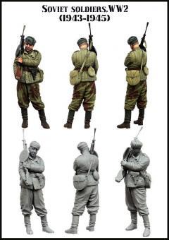 Sowjetischer Soldat - 1943-45