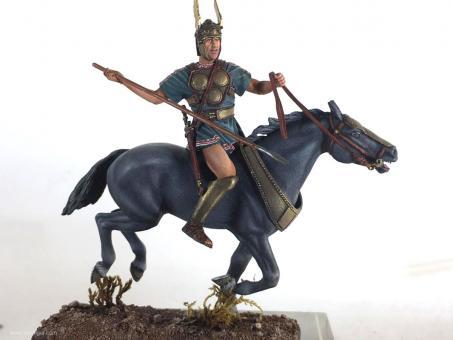 Samnitischer Krieger zu Pferd