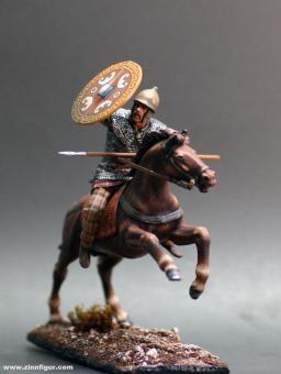 Keltischer Krieger zu Pferd - 3. Jh.v.Chr.