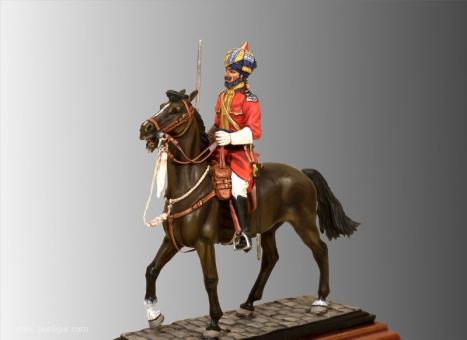 Risaldar Neb Ram - 7th Regiment of Bengal Cavalry - Diamond Jubilee 1897