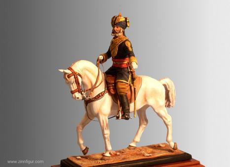 Indischer Offizier - 15th (Cureton's Multani) Regiment of Bengal Cavalry - 1887